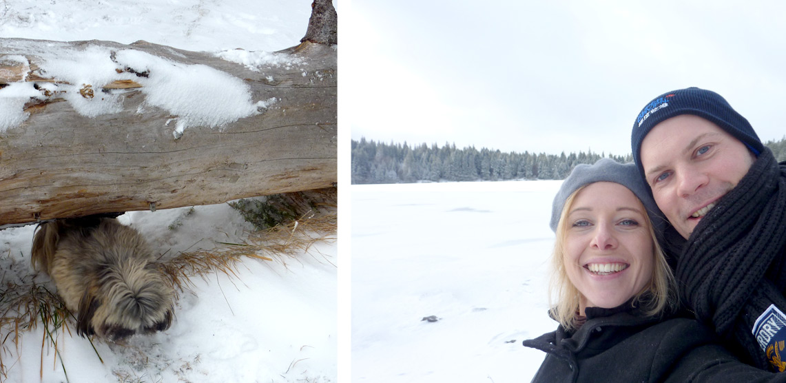 lac servieres hiver