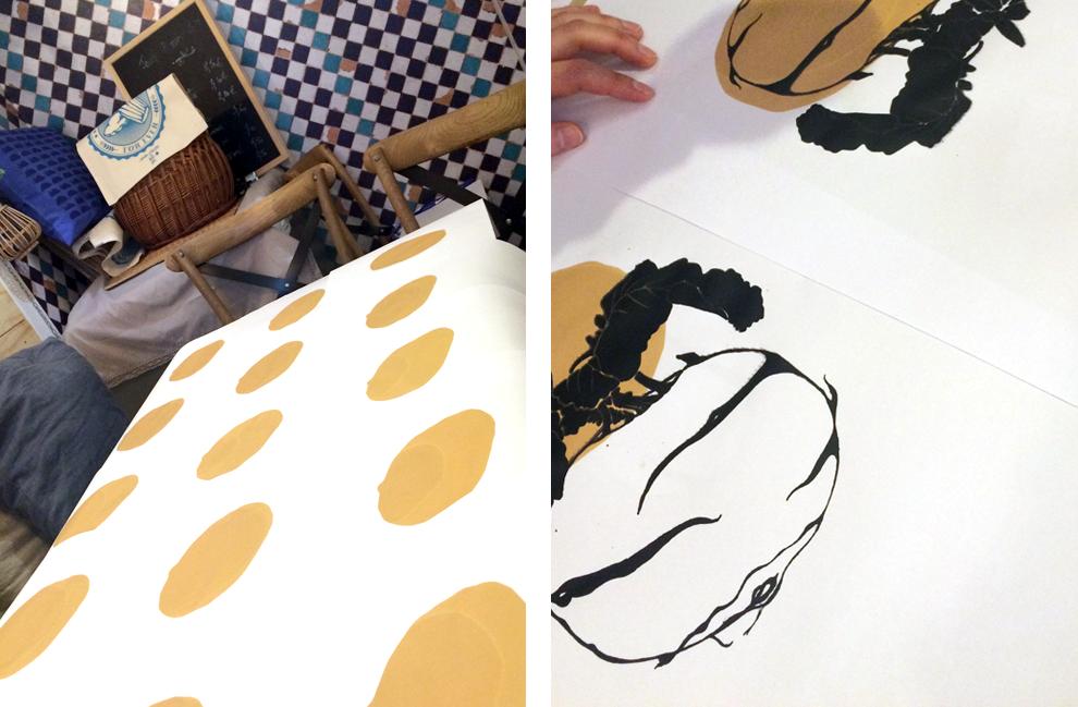 impression serigraphie 2 couleurs