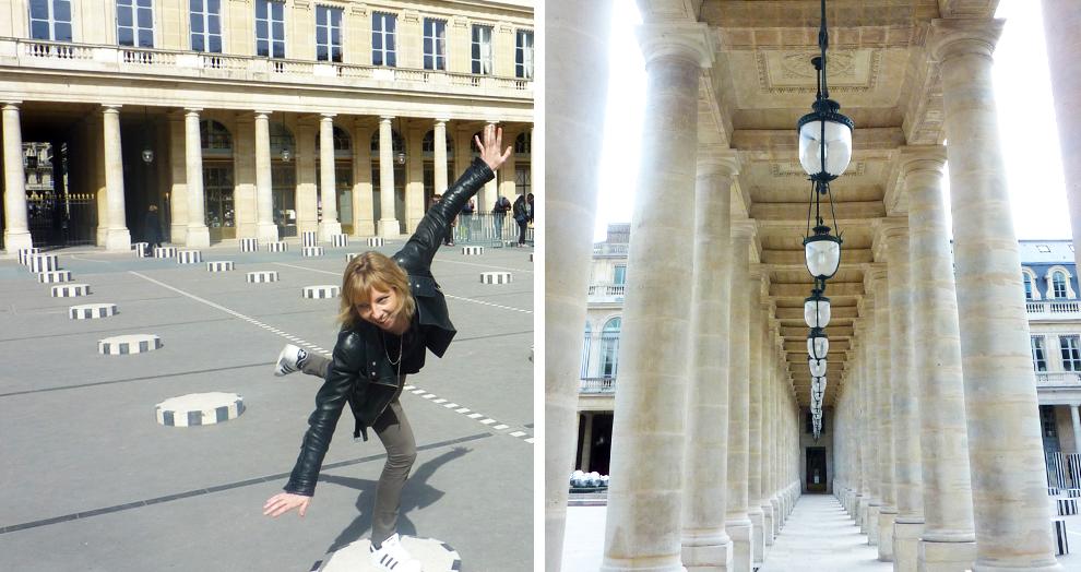 Palais Royal - Colonnes de Buren