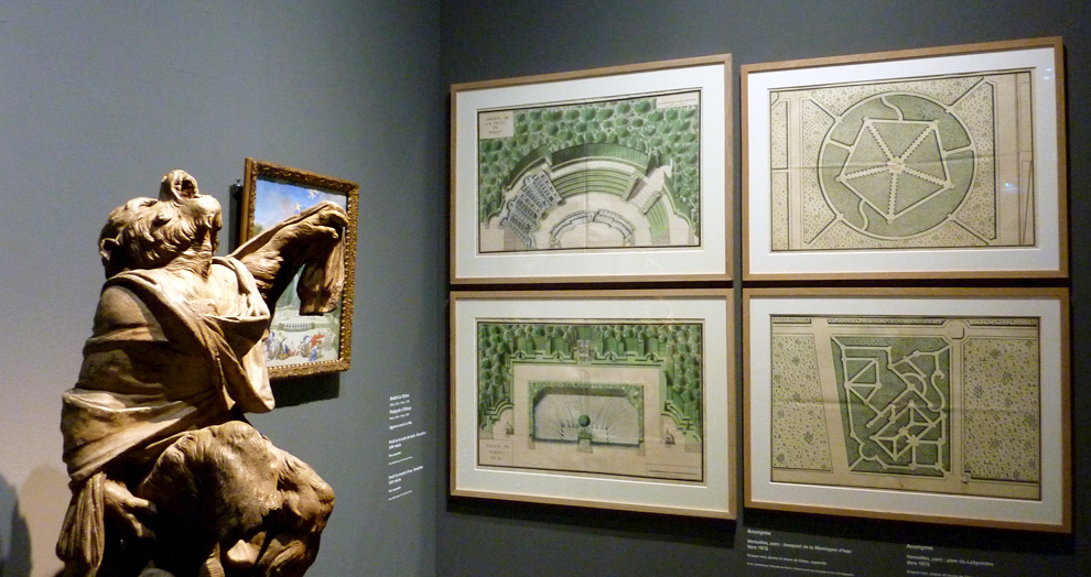 plans - expo jardins - grand palais