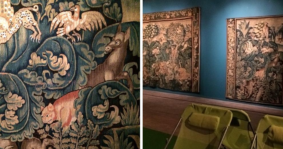 Exposition Verdures - tapisserie Anglards de Salers
