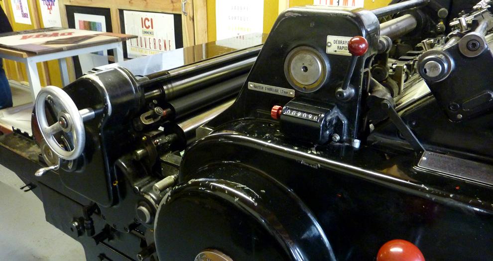 presse letterpress
