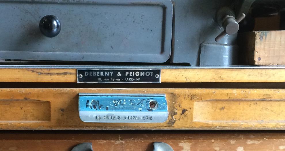 casse letterpress
