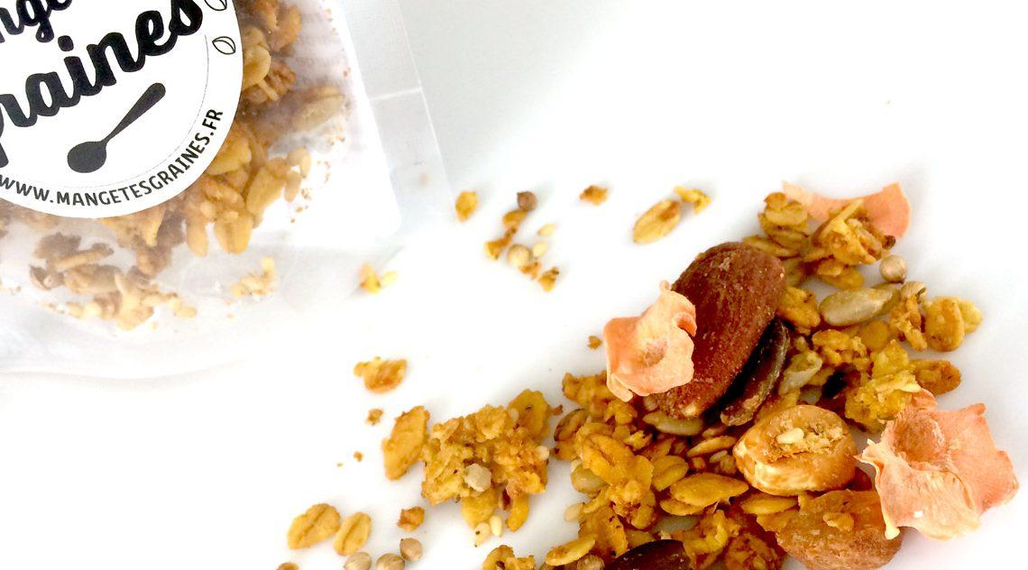 Mange tes graines, le muesli naturel et gourmand
