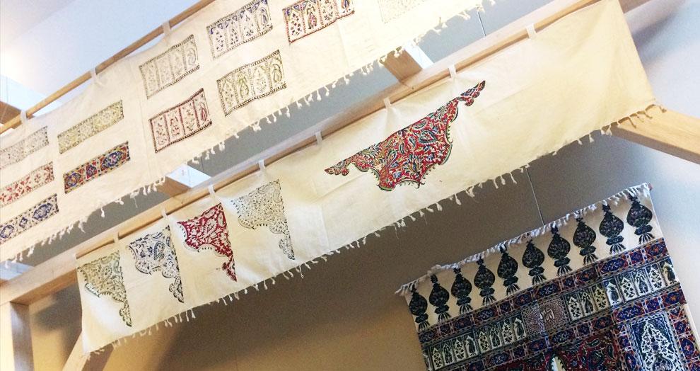 l'art du qalamkar - musée Bargoin