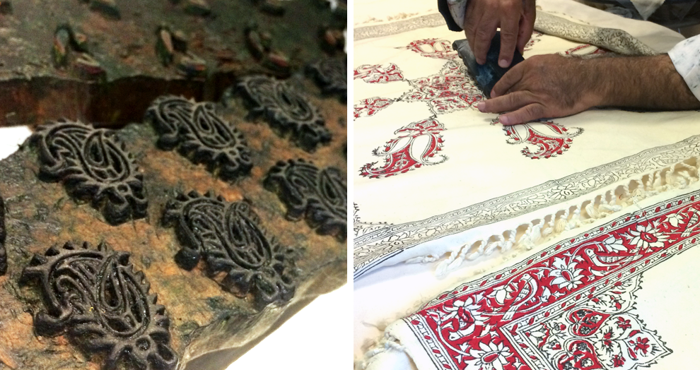 l'art du qalamkar - expo Bargoin