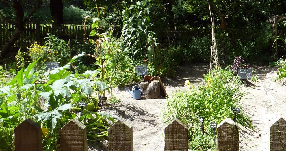 écomusée de Marquèze - les jardins