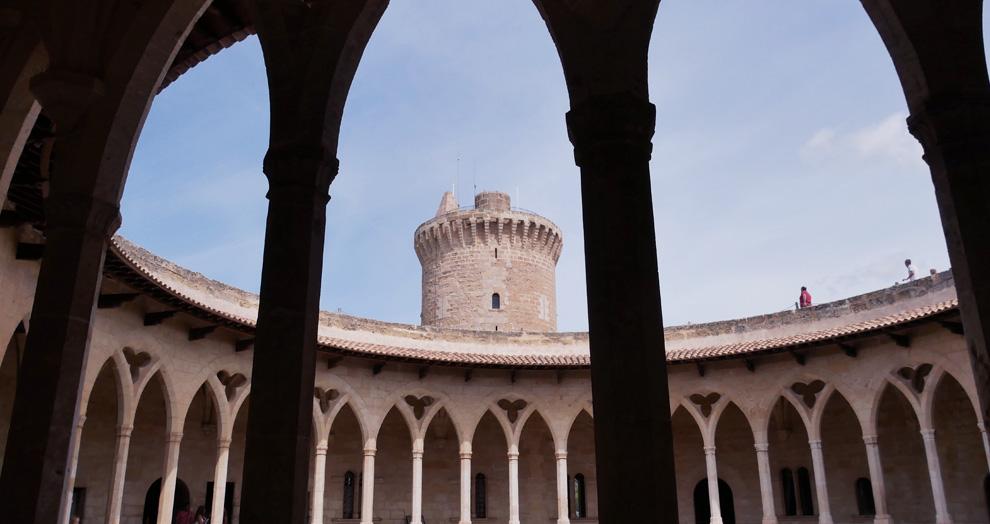 Castell de Bellver . Palma de Mallorque
