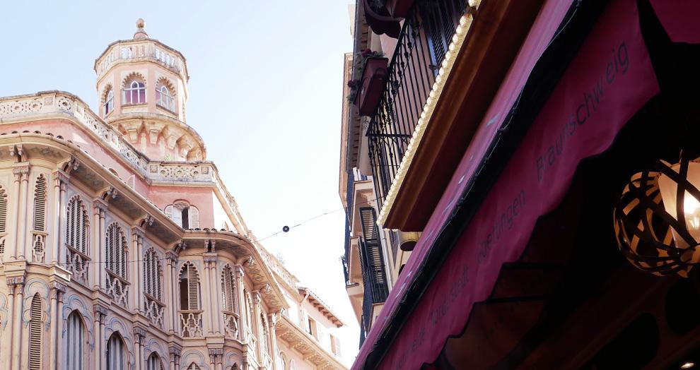 centre historique Palma Mallorque