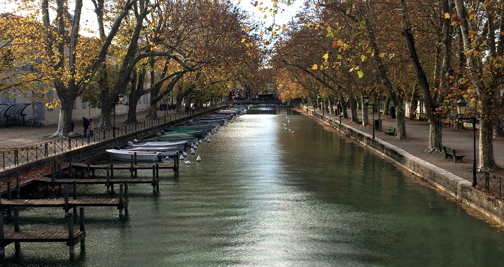 pont des amours annecy