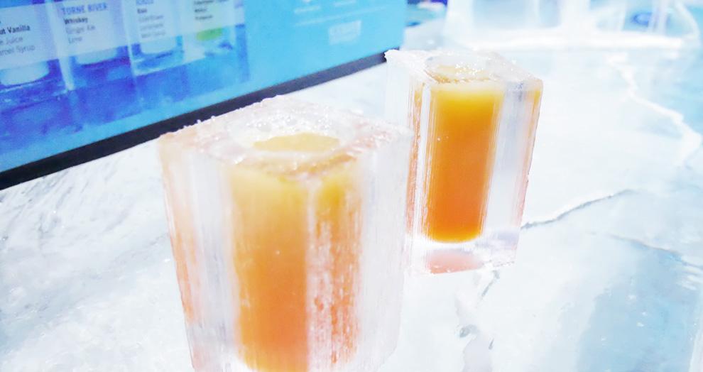 Ice Bar à Stockholm