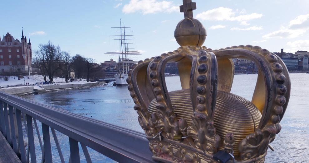 pont à la couronne Stockholm