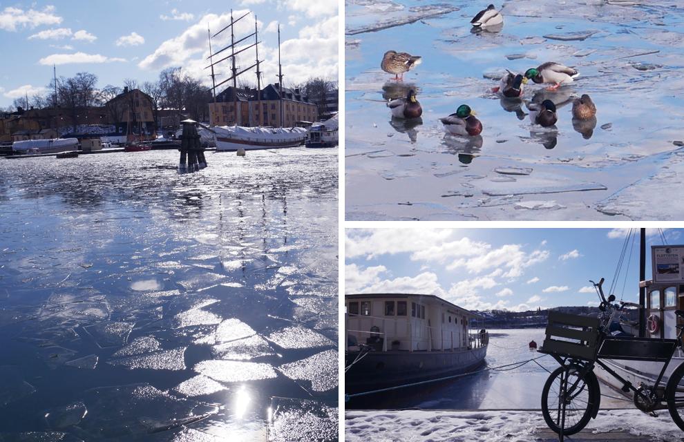 bateau à Stockholm