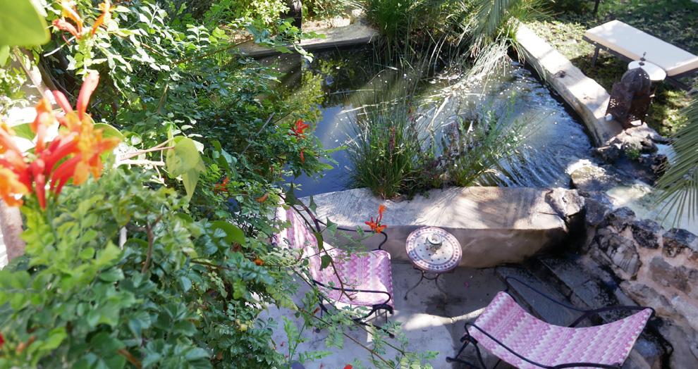 detente aux jardi d'arta, hotel arta majorque