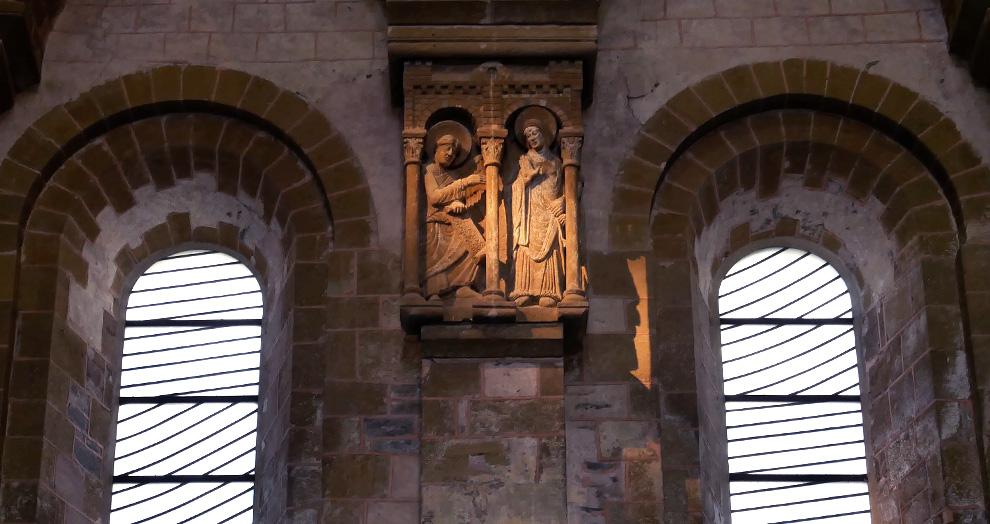 Abbatiale conques vitraux soulages