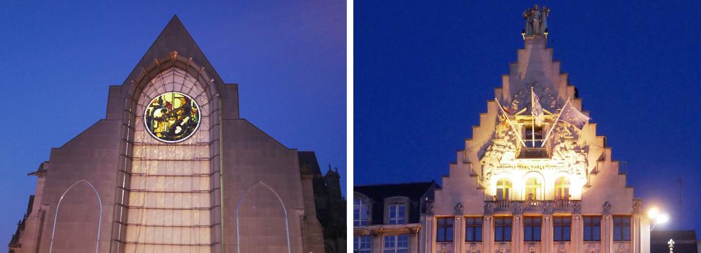 Cathédrale de la Treille et voix du Nord Lille