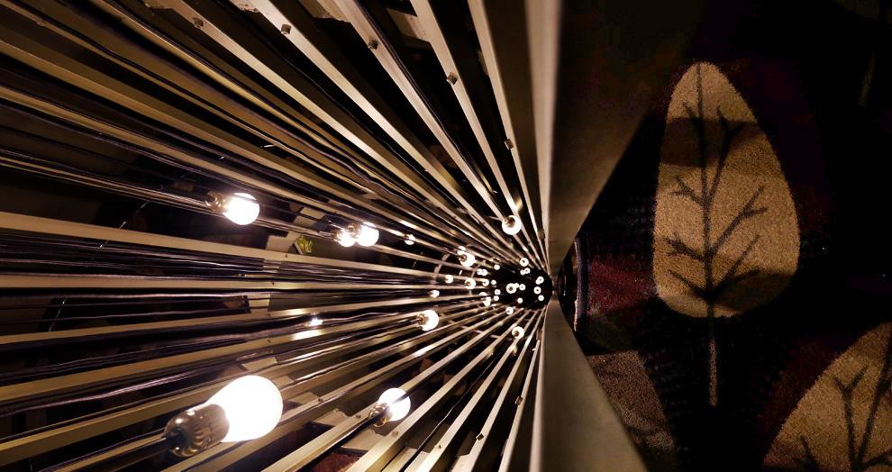 escalier hotel la valiz