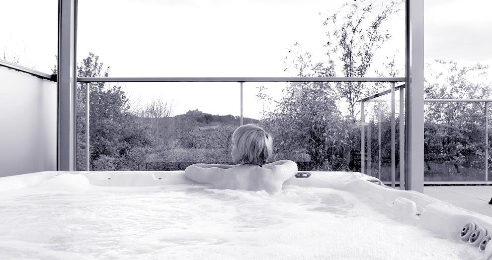 jacuzzi privé villa de labro