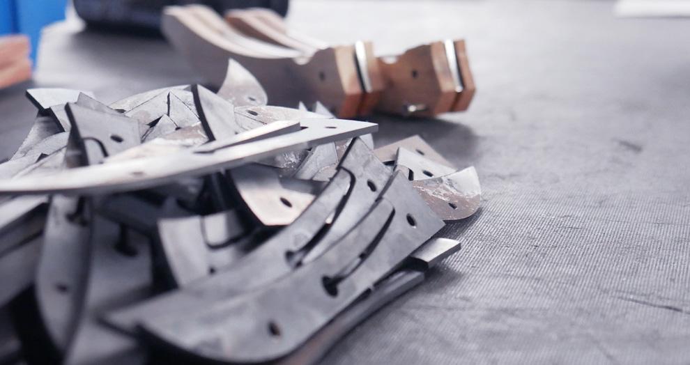 fabrication couteau Laguiole village