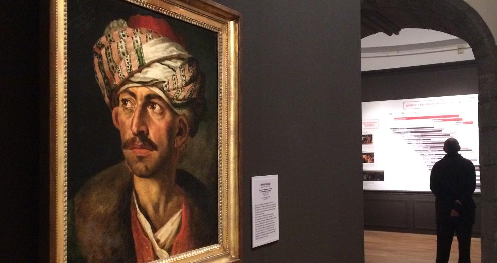 exposition de David à Courbet, Gericault