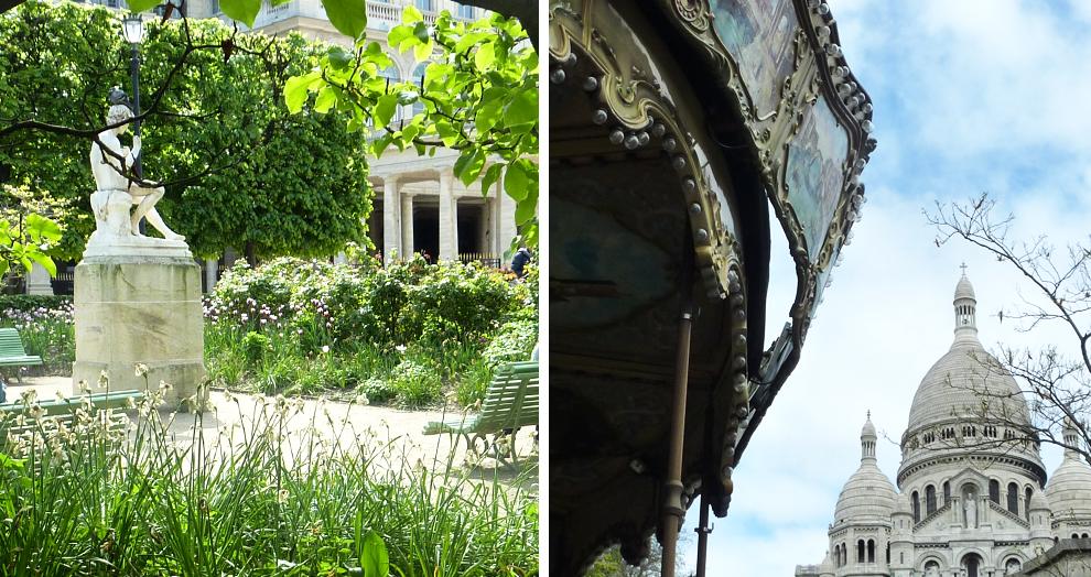 Jardin Palais Royal - Montmartre