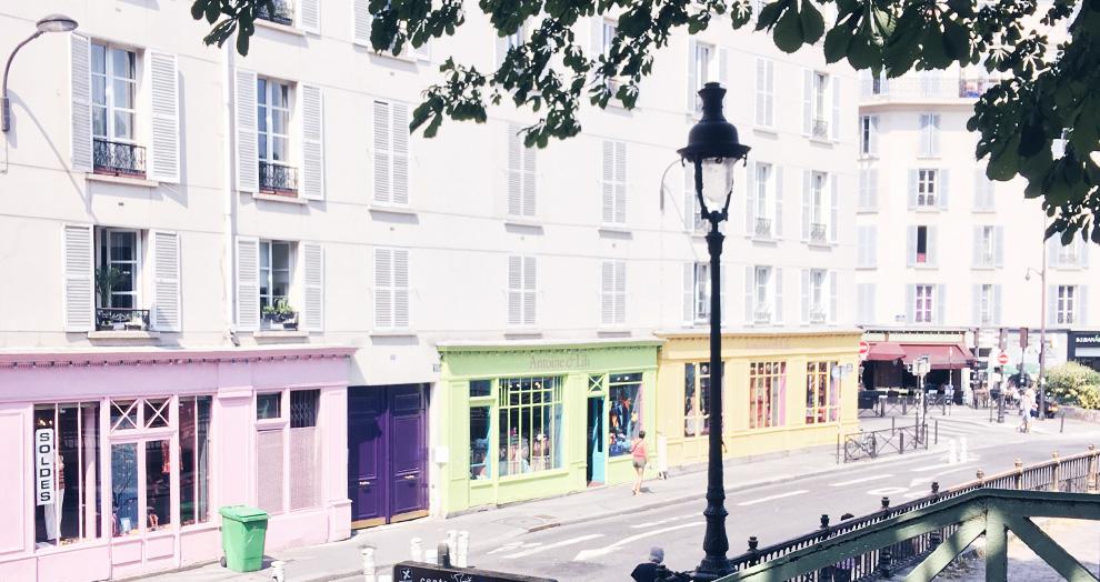 shopping canal st martin paris