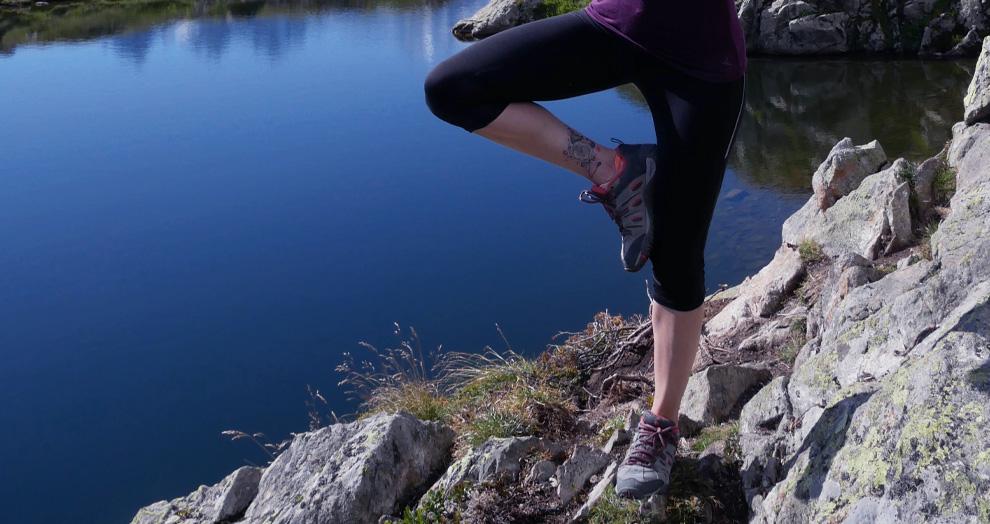 Yoga plein air chamonix