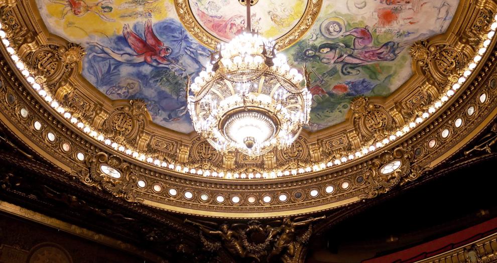 plafond chagall opéra garnier