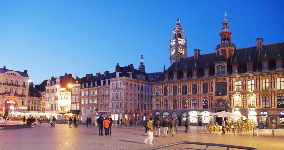 Nuit Grand-Place Lille