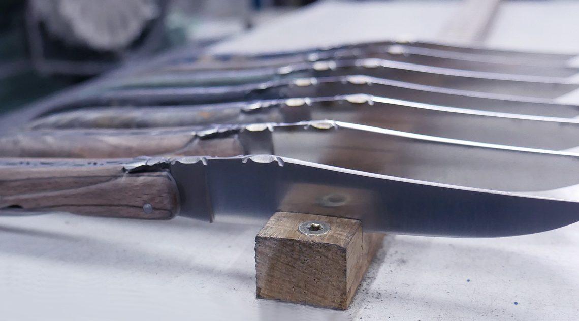 L'art du couteau avec Laguiole village
