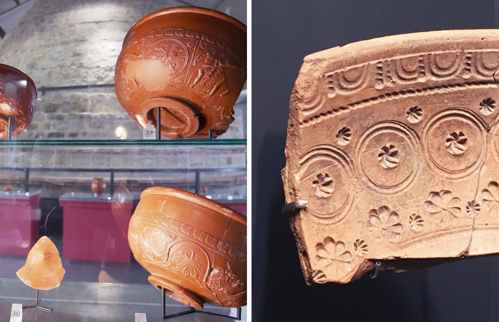 musée de la ceramique à Lezoux