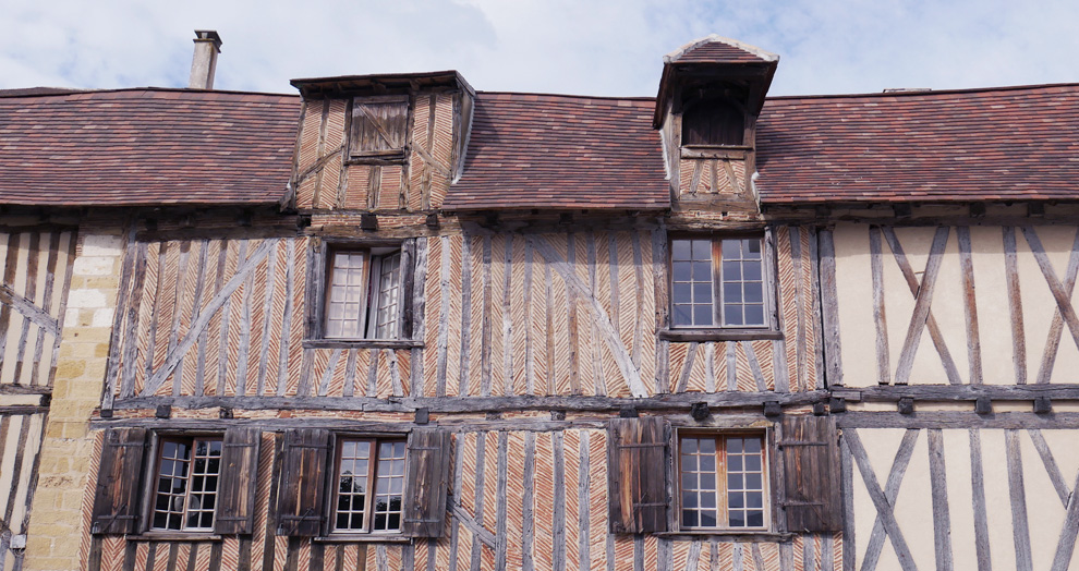 maison a colombage Bergerac