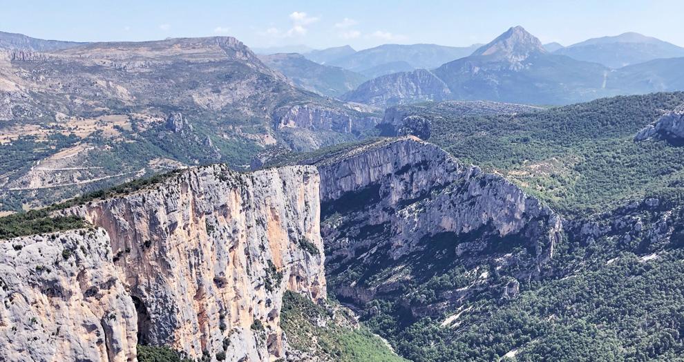 falaise gorges du verdon
