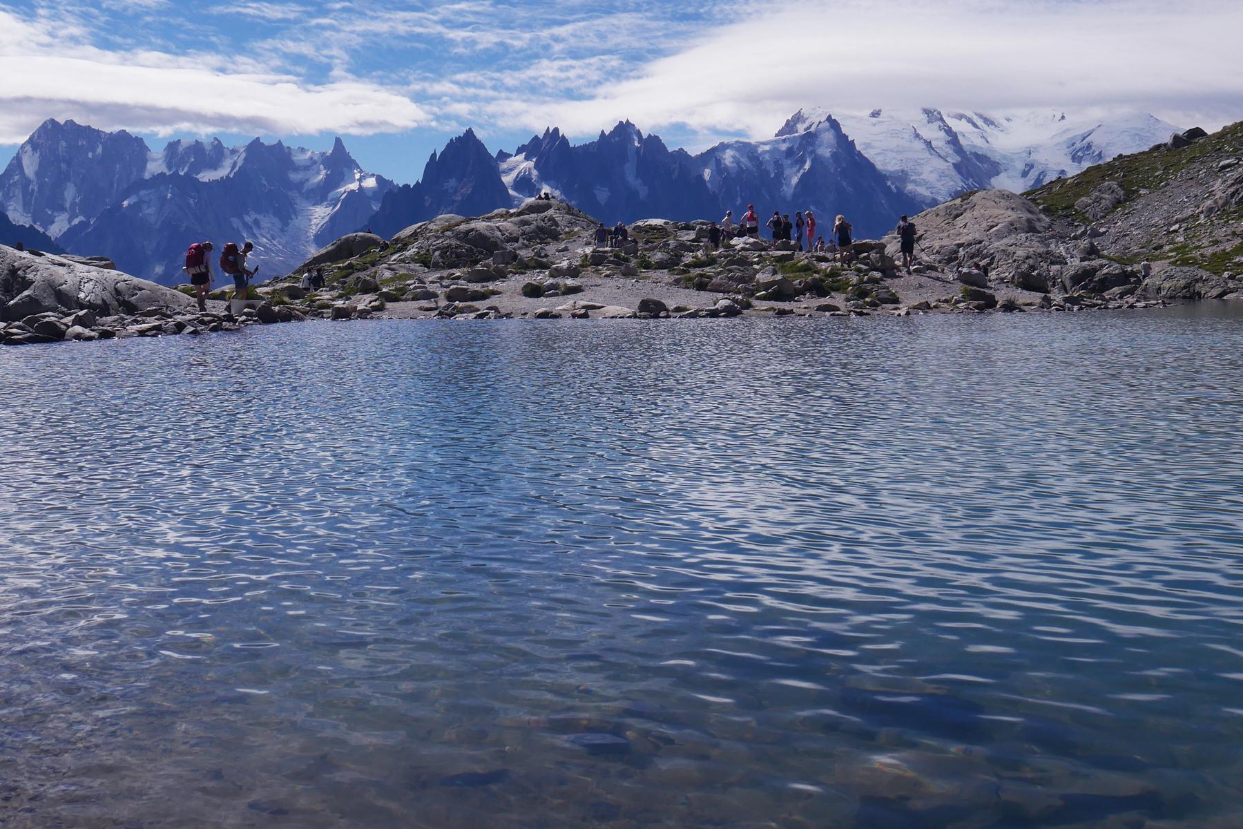 lac des chéserys chamonix