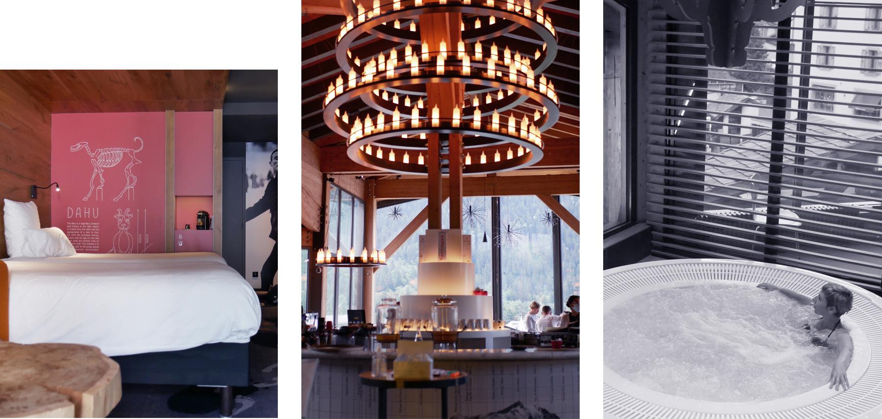 hotel spa chamonix : Alpina Eclectic