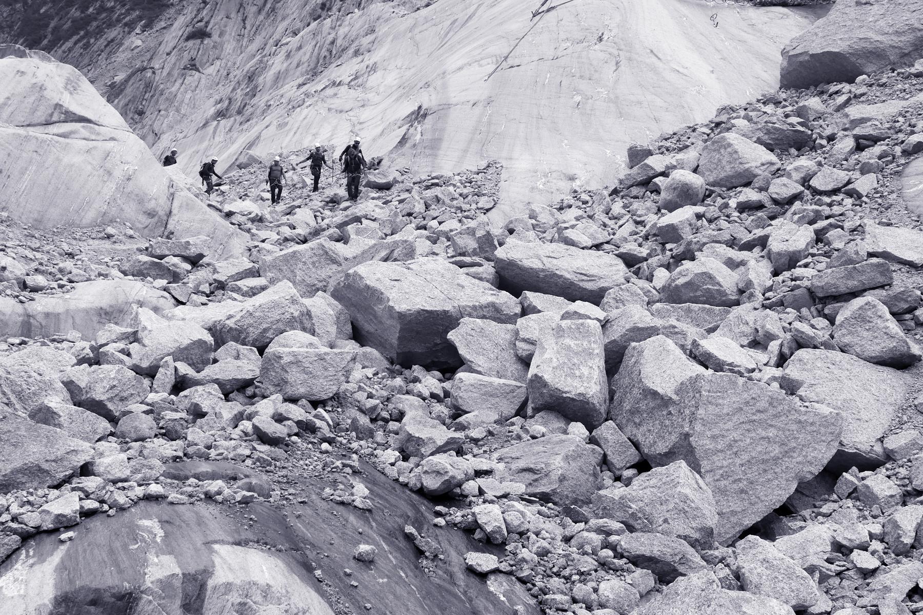 alpinisme mer de glace