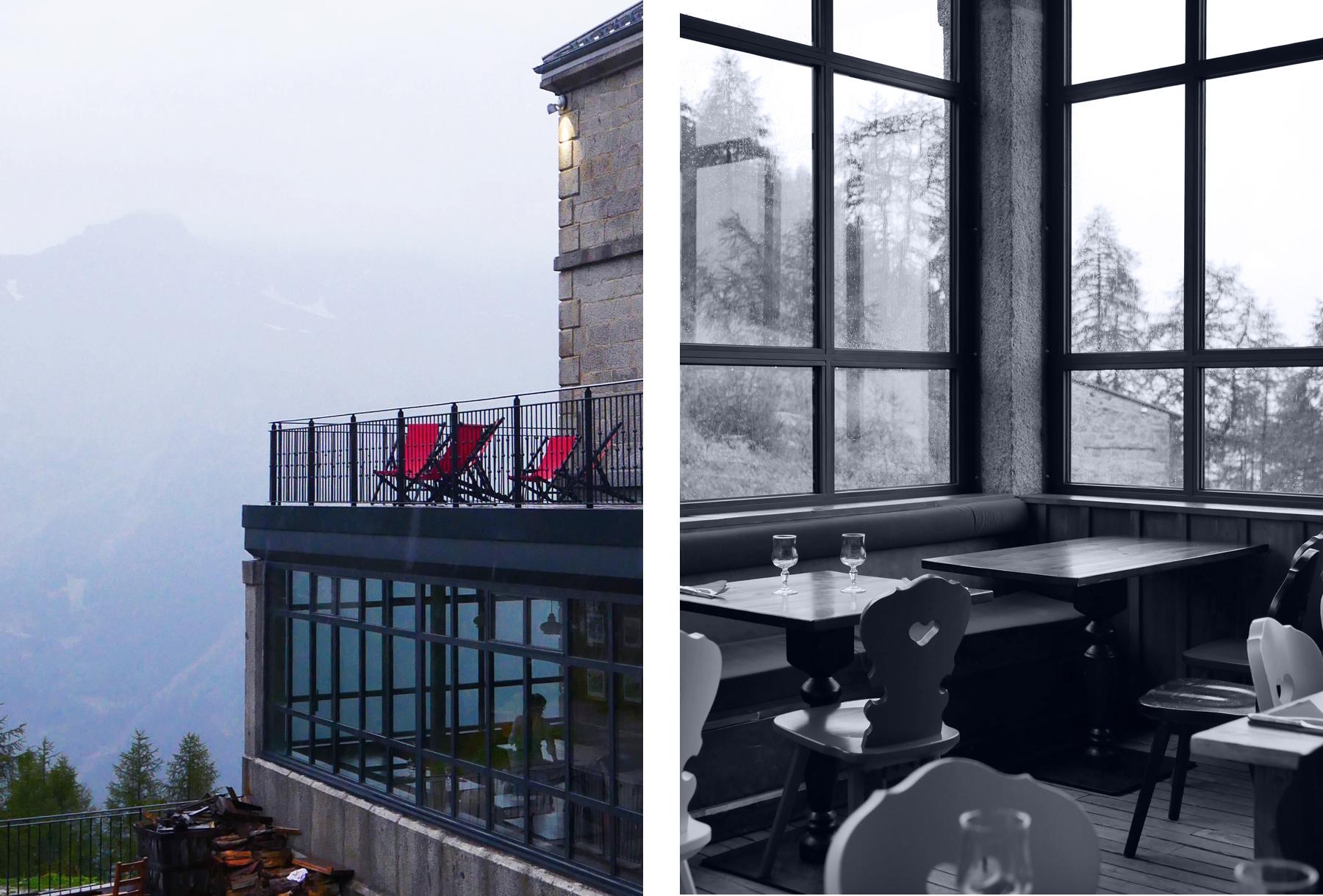 terrasse hotel montenvers