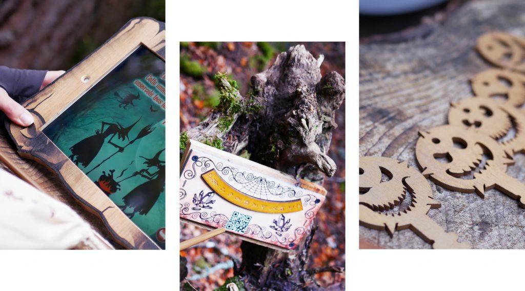 escape game la foret des arboris, spécial halloween