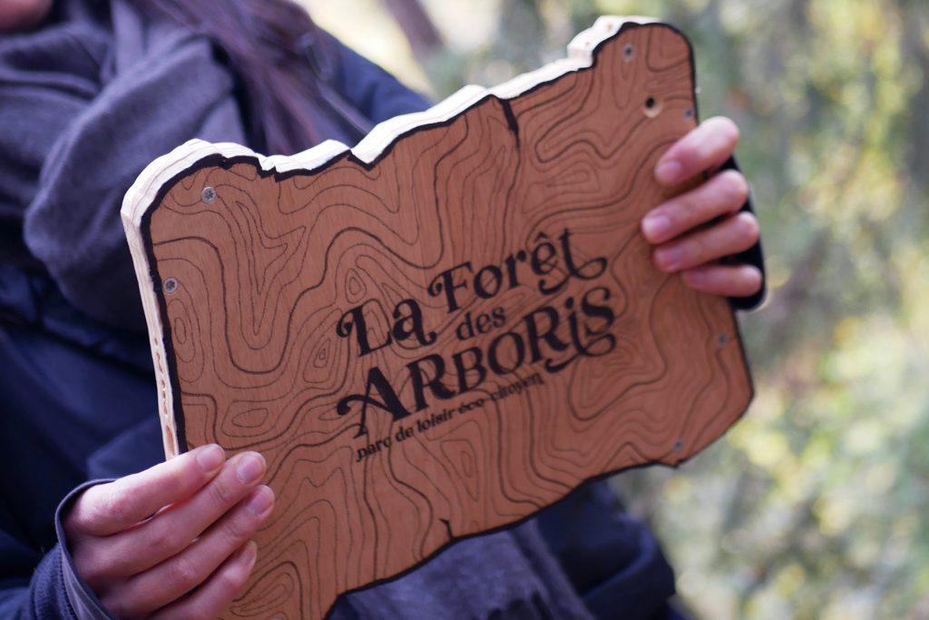 tablette experience game la forêt des arboris